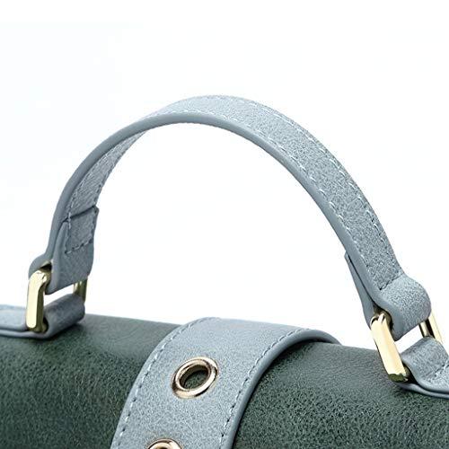 femme sauvage Lxf20 Carré Hit PU Bag Casual Petit Sac Mode Sac Sac Blue Petit À Messenger pour épaule Color Sac Main w7417