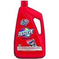 Resolve Professional Carpet Steam Cleaner Solution, 96 fl oz Bottle, 2X Concentrate