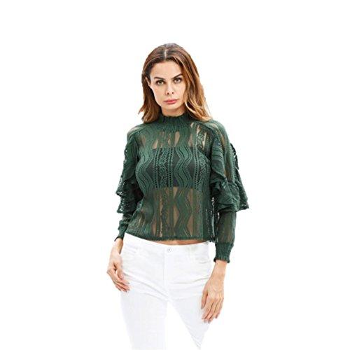 Maerz Longsleeve Camisa Manga Larga para Mujer