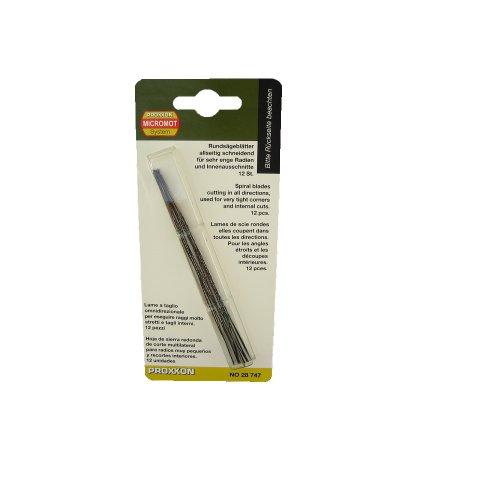 Spiral Scroll Saw Blades without Pin - Proxxon 28747