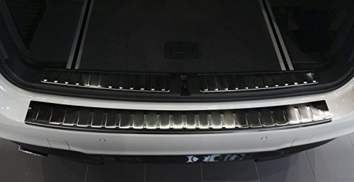 2014-bmw-x3-f25-brushed-grahite-stainless-steel-rear-bumper-protector-guard