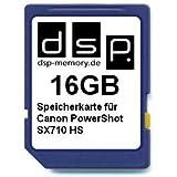 DSP Memory Z-4051557428720 16GB Speicherkarte für Canon PowerShot SX710 HS