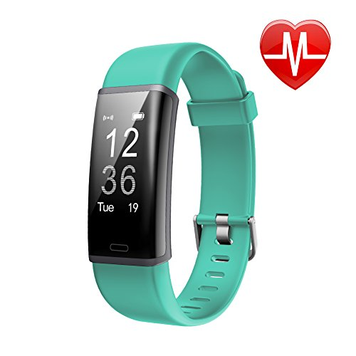Fitness Tracker HR, Letscom Activity Tracker Watch with Heart Rate Monitor, IP67...