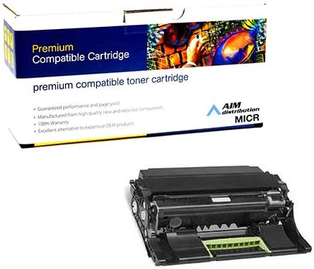 60000 Page Yield - Generic AIM Compatible MICR Replacement for Lexmark M1145//3150//XM-1145//XM-3150 Drum Unit 24B6040