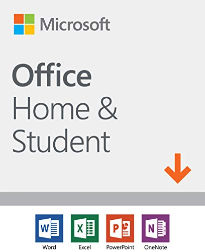 Software : Microsoft Office Home and Student 2019 | 1 device, Windows 10 PC/Mac Download