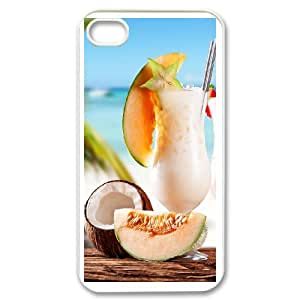 iPhone 4,4S Phone Case With Drink Q6H13557