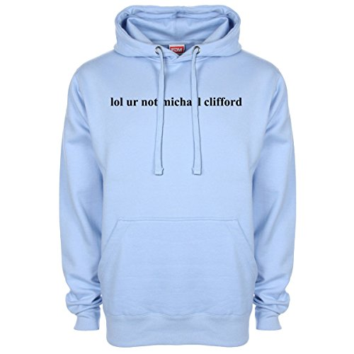 Michael Clifford 5 Seconds of Summer Hoodie - LightBlue - XX-Large (48-50 inches)