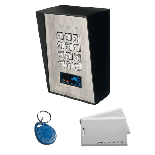 Vandalismusgeschütztes Profi Codeschloss mit RFID Card-Reader im Set