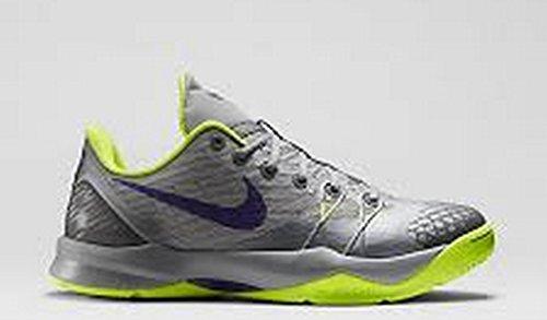 Mens Nike Zoom Kobe Venomenon 4 Scarpe Da Basket Grigio 635578-057 (10)