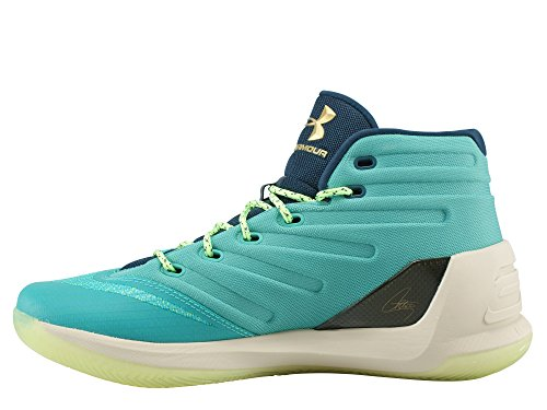 ... Under Armour Mens Curry 3 Basket Sko Neptune ...
