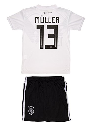 26975c018 AMDS Soccer Youth Jersey Set ○ Germany ○ Home Jersey ○ World Cup 2018 ○