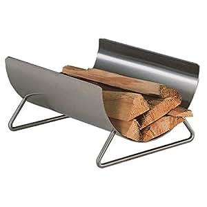 Heibi–Cesta para leña de acero inoxidable pulido 52262–072