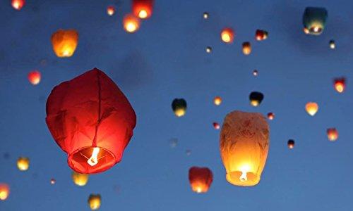 Jaycoknit Paper Flying Sky Lantern  Multi