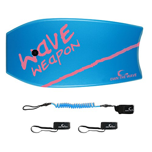 Own the Wave Bodyboard 37 - 2018 - Improved Core - Blue & Magenta