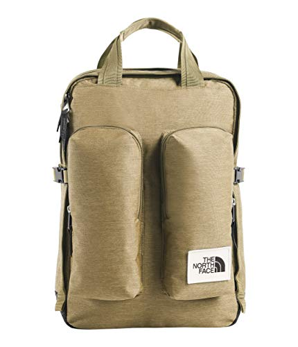 - The North Face Mini Crevasse, Kelp Tan Dark Heather/Asphalt Grey Light Heather, OS