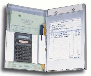 EGP Handi-Desk Register with Calculator, 6 1/4'' x 9 5/8''