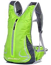 EULANT - Mochila ligera para correr, ciclismo, impermeable, para mujer y hombre, pequeña mochila de viaje para ciclismo, senderismo, camping, senderismo, viajes, pesca, escuela, senderismo, montañismo