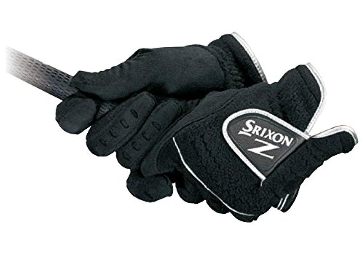 [해외] DUNLOP(던롭) 골프 글러브 SRIXON 방한 골프 글러브 양손용 맨즈 GGG-S021 블랙 M