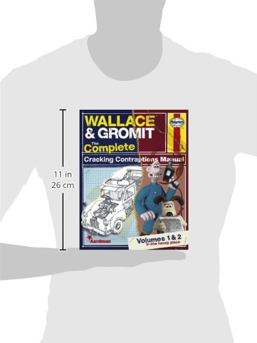 Wallace & Gromit: The Complete Cracking Contraptions Manual - Volumes 1 & 2