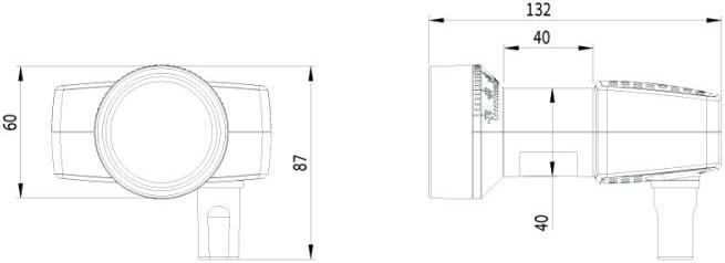 Inverto Unicable Ii Lnb Idlu 24ul40 Unmoo Opp 24 Elektronik