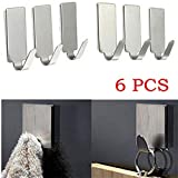 Hanger - Hot Sell Round Adhesive Kitchen Wall Door Stainless Steel Stick Hanger