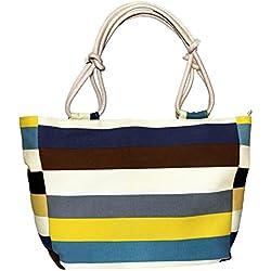 SIWA MARY Canvas Tote Bag,Vibrant Beach Bag,Bridesmaid Monogrammed Tote Bag …