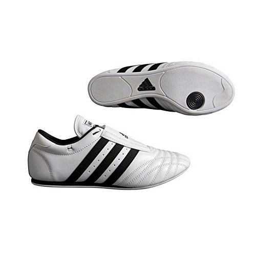 ADIDAS SM II SHOES - black w/white stripes - 9.5