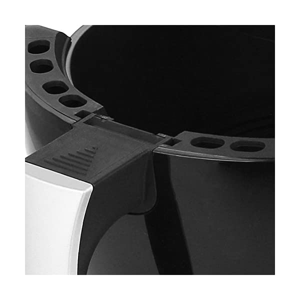 """Emerio AF-115668 - Friggitrice ad aria calda, Smart Fryer Test """"GUT"""", Friggitrice senza olio, 3,6 litri, 1400 Watt 4"""