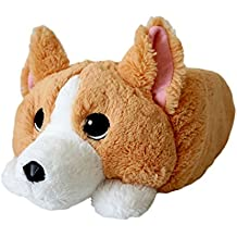 "Waffles the Memory Foam Corgi, Cute Pillow Plush Toy for Home and Travel, 16"", Perfect Gift Indoor Outdoor Companion"