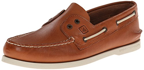 Sperry Top-Sider Men's Authentic Original 2-Eye Slip-On Boat Shoe Tan