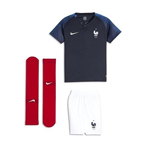 NIKE France Home Infant Kit 2018/2019-122-128 (Nike Youth Football Kits)