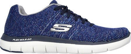 Flex Grigio Blu Sneaker Point 2 da 0 Marino Uomo Golden Advantage Skechers S7qRd7
