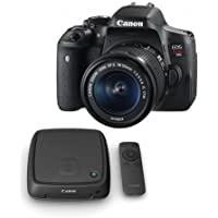 Canon EOS Rebel T6i DSLR with EF-S 18-55mm f/3.5-5.6 IS STM Lens and Canon Connect Station