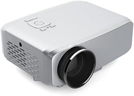uniway GP60 Mini proyector portátil 1200 lumens LED proyector de ...