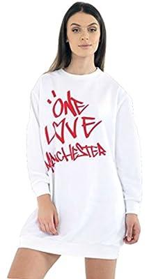 Ladies Girls Love Manchester Sweatshirt Tshirt US Size 4-12