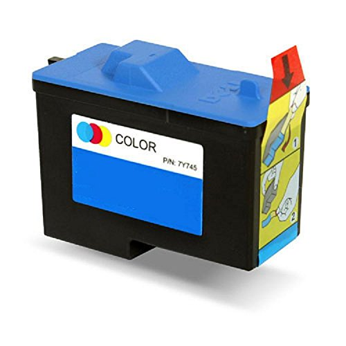 Remanufactured (Series 2) DELL 7Y745 Color Ink Cartridge for Dell A940 and A960 Printers