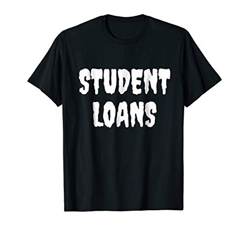 Student Loans - Cheap and Easy Halloween Costume -