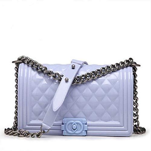 Gelée lady Blue Sac Carré Diagonal Épaule Bags Ww Femelle Petit Light Parfum Chaîne Paquet De 8qxTwZw