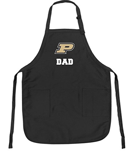 Broad Bay Purdue Dad Aprons NCAA Purdue University Dad Apron w/Pockets by Broad Bay