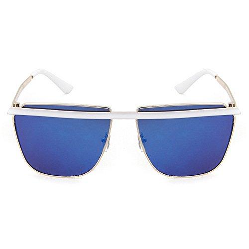 Lunettes Ultra Femmes Vacation Hommes pour Soleil Beach Summer Driving pour Les C3 Frame UV de Vintage Simple légères Protection Full Femmes T5nxPq0wg7