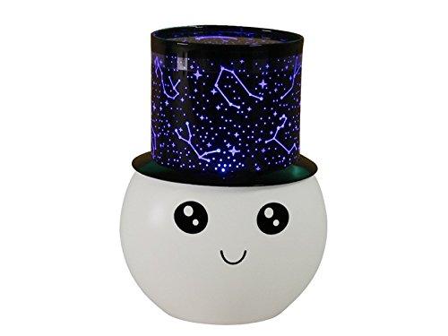 Durable Proyector de luz LED para Noche Relax Sleeping Romantic Sky Lámpara de Luna para...