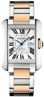 Cartier Women's W5310007 Analog Display Swiss Automatic Two Tone Watch