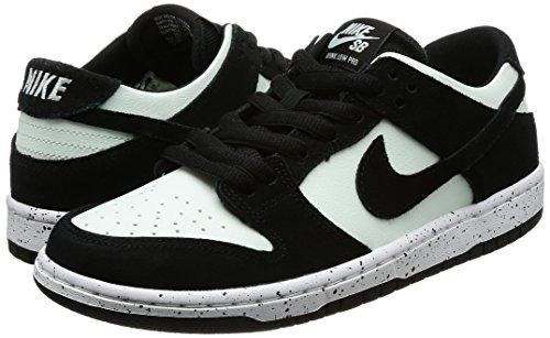 Zapatillas Nike SB Zoom Dunk Low Pro Negro / Negro / Barely Green / White, Hombre 11 Estados Unidos