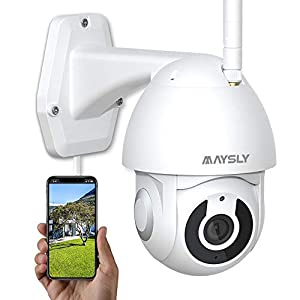 Flashandfocus.com 41nHxxt1MFL._SS300_ Security Camera Outdoor Wireless Joustory WiFi Cameras for Home Security 1080P with PTZ Night Vision Motion Detection 2…