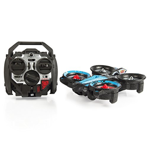 Air Hogs RC Helix X4 Stunt 2.4 GHz Quadcopter, Blue/Red