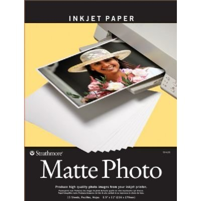 Matte Surface Inkjet Paper - 3 Pack 8.5