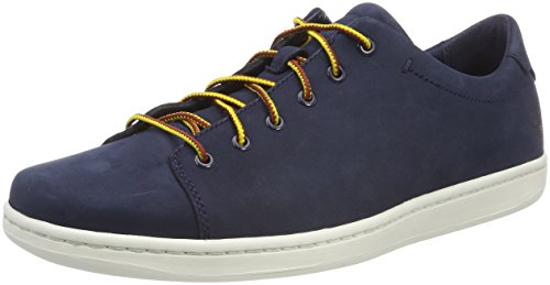 Timberland Herren Courtside Leather Oxfords Blau (Black Iris Nubuck 019)