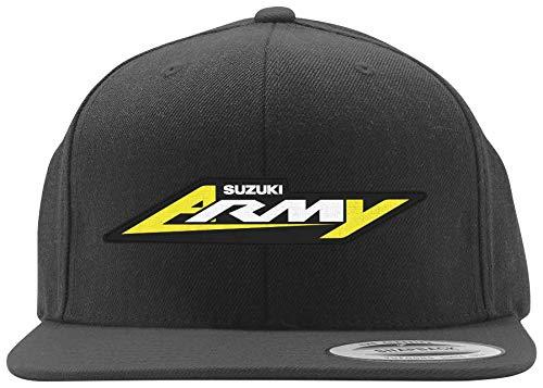 Factory Effex Apparel Onesuzuki Army Hat Blk Yth One 22-86406 New