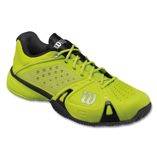 Zapatillas Wilson Rush Pro Clay Lima - 45