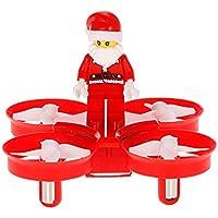 Goolsky Original JJR/C H67 2.4G 4CH Mini Drone Santa Claus Quadcopter Christmas Present Gift with Christmas Songs LED Music